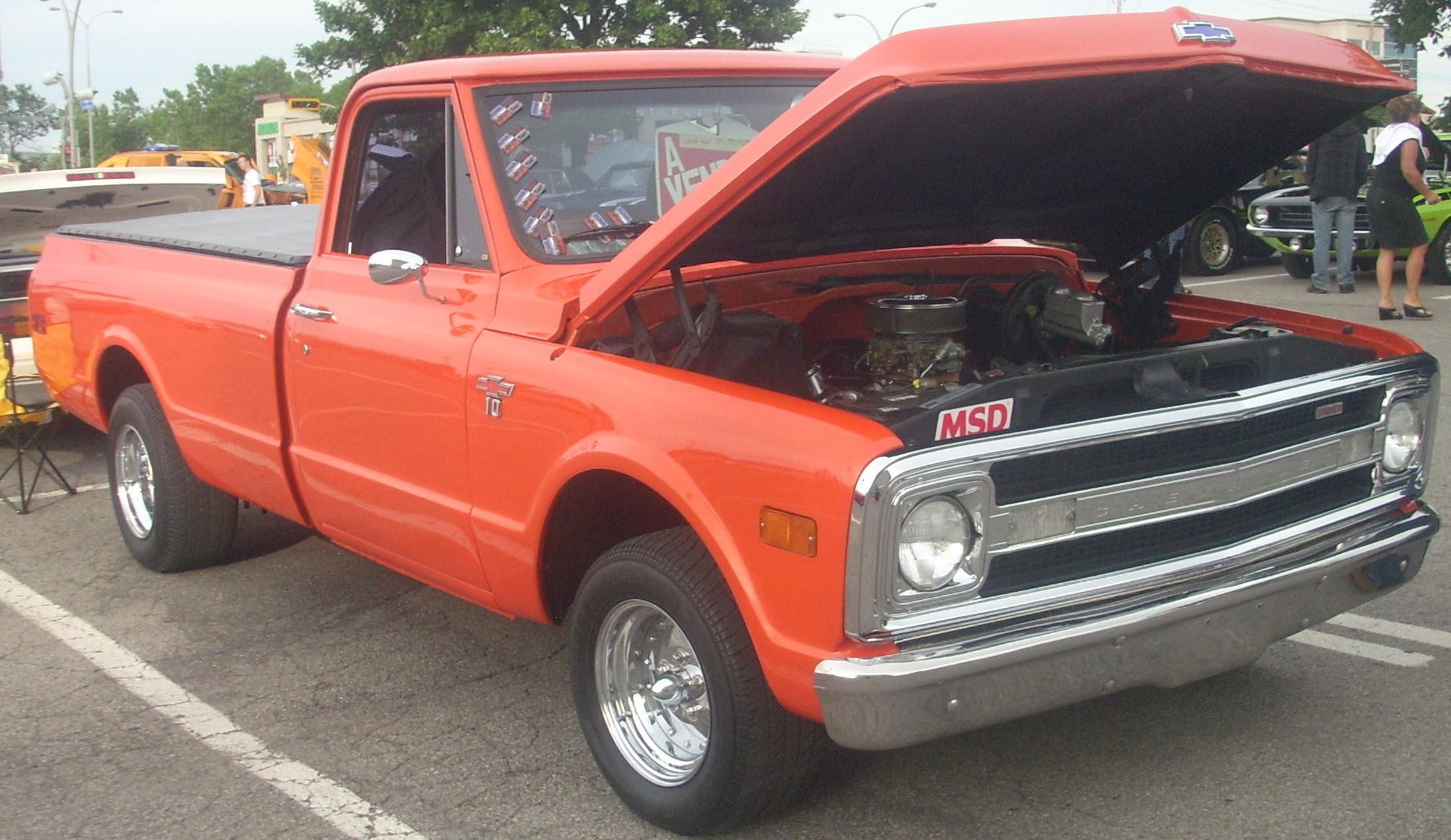 1966 Chevrolet Truck C10 12 Ton Pu 2wd 4 C K Tractor Construction Plant Wiki Fandom Powered