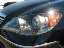 Headlight projector optics