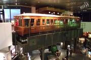 Liverpool elevated railway car + track - DSCF2990