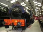 118 WD 0-6-0 ST Oxenhope Museum 2
