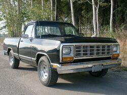 1983 Dodge D150 Sweptline