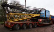 A 1970s NCK Ajax 605 C75 Crawlercrane