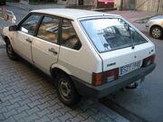 Lada Samara 2109 in Kraków (1)
