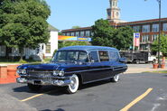 1959 Cadillac hearse Janowiak funeral home Ypsilanti Michigan