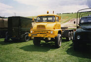 A 1960s AWD Ford Thames Trader 6X6 Lorry
