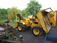 A 1980s Liner Roughrider 3000 with Backhoe