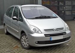 Citroën Xsara Picasso 20090221 front