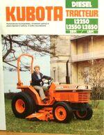 Kubota L2250 brochure