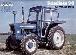 Roadless 98 MFWD brochure - 1976
