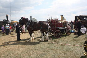 Shand-Mason steam fire engine - Thorney at hollowell 2011Picture 795