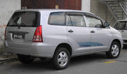 Toyota Innova (first generation) (rear), Kajang
