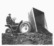 A 1930s Aveling Barford Sitedumper Petrol engined