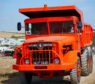 A 1960s Aveling-Barford 690 Mining Dumptruck