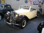 Citroen Traction-Avant-Cabriolet