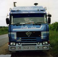 Foden 4350 G428GVG at Wickhambrook 1990