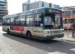Leyland Lynx Mk.II Cardiff Bus