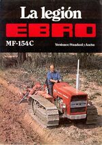 MF 154C crawler (Ebro) brochure
