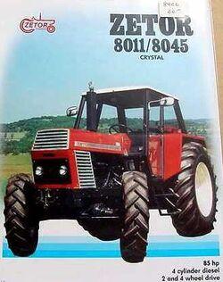 Zetor Crystal 8045 MFWD ad-1984