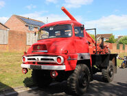 A 1960s AWD Ford Thames Trader 4WD Cheshire Auger Lorry