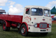 A 1960s Rowe Hillmaster Lorry Diesel 4X2