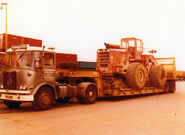 A 1970s Aveling Barford TS500 4WD Loader Diesel