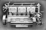 Wolseley 6-cylinder marine oil engine (Rankin Kennedy, Modern Engines, Vol V)