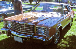 '76 Ford Granada Coupe (Auto classique Salaberry-De-Valleyfield '11)