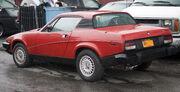 1977 Triumph TR7 in the Bronx
