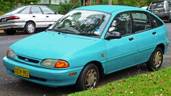 1994-1996 Ford Festiva (WB) GLi 5-door hatchback (2011-03-10)