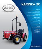AHS Karinca 30 MFWD brochure - 2013
