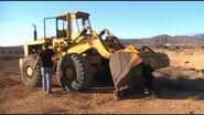 A 1980s Aveling Barford TS250 4WD Loader Diesel
