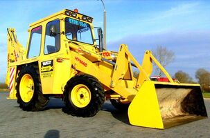HY-MAC 370C BACKHOE LOADER.