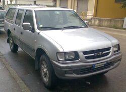 Isuzu TF pickup Euro specification