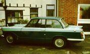 Triumph Herald 1200 in profile