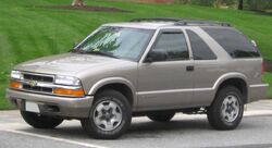 98-05 Chevrolet S-10 Blazer 2door