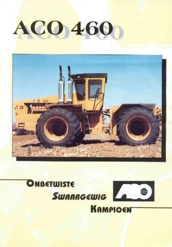 ACO 460 4WD brochure