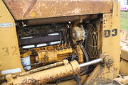 Caterpillar D3 dozer fitted with Cat 3204 engineIMG 1594