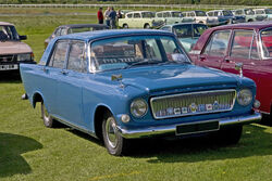 Ford Zephyr 211E front