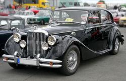 Jaguar MK V, Bauzeit 1948-51, Front (2008-06-28)