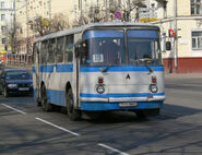 LAZ-695 bus in Minsk 01