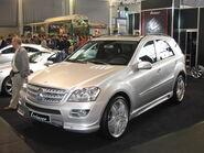 Mercedes M-Class Lorinser style