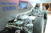 V6 2GR-FE RX 450h cutaway