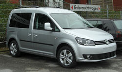 VW Caddy (2K, Facelift) front 20110115