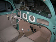 1949 VW dash