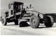 A 1960s Aveling Barford Pacer 4X4 Motorgrader Diesel