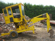 A 1980s Smalley MK2 Minidigger Diesel