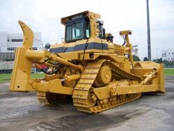Cat D9R with SS Ripper
