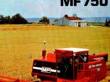 Massey Ferguson 750 combine