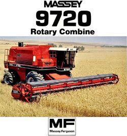 MF 9720 combine (MASSEY) brochure