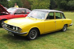 Triumph 2500 S first registered May 1976 2498cc